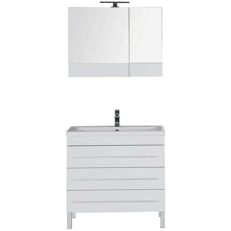 Комплект мебели для ванной Aquanet Верона 90 230316 Белый