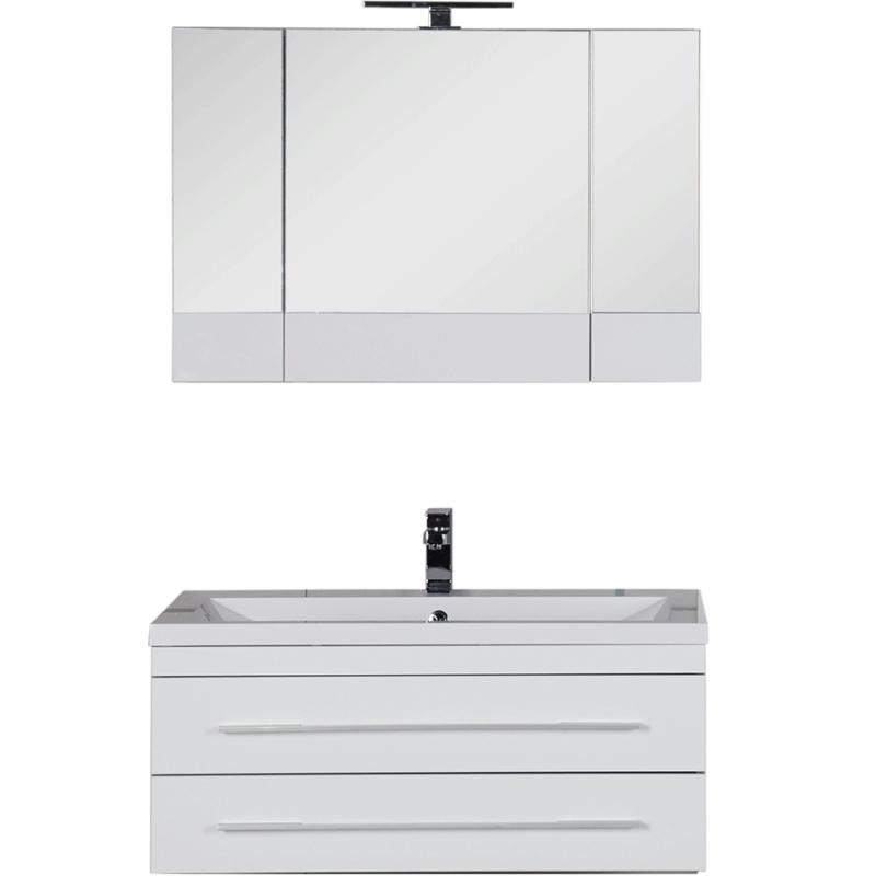 Комплект мебели для ванной Aquanet Верона 100 230318 Белый