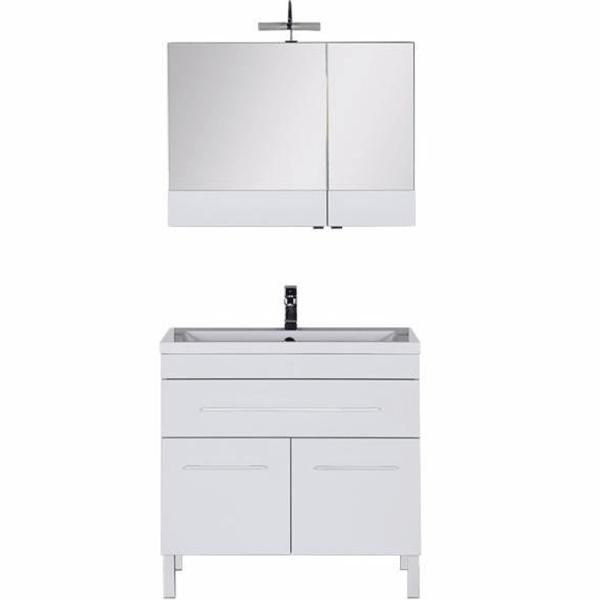 Комплект мебели для ванной Aquanet Верона 90 230314 Белый