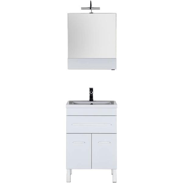 Комплект мебели для ванной Aquanet Верона 58 230308 Белый