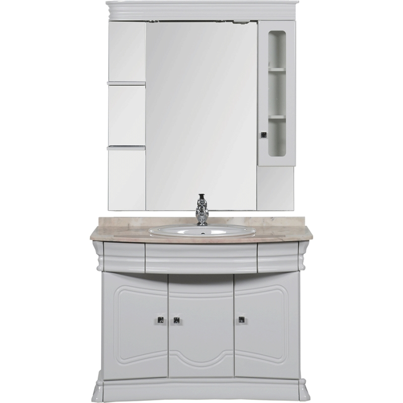 Комплект мебели для ванной Aquanet Греция 110 172505 Белый Бежевый цена в Москве и Питере