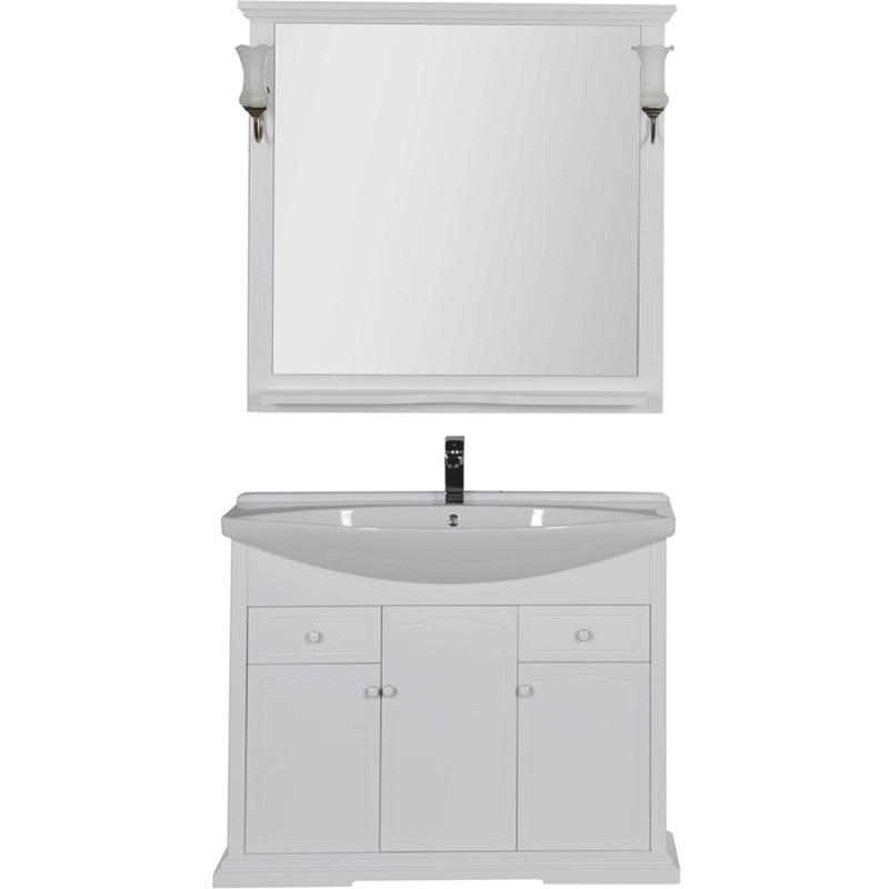 Комплект мебели для ванной Aquanet Лагуна 105 203778 Белый