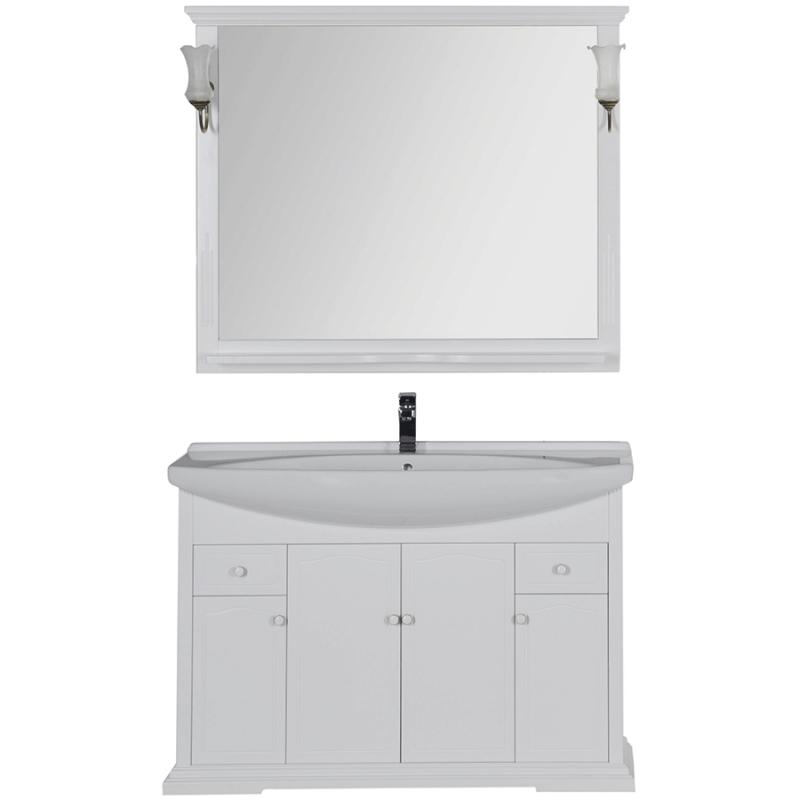 Комплект мебели для ванной Aquanet Лагуна 120 175443 Белый
