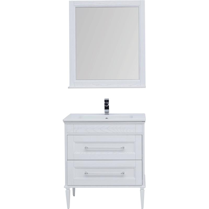 Комплект мебели для ванной Aquanet Бостон 80 212008 Ясень тумба с раковиной aquanet бостон 80 ясень 206551 186188
