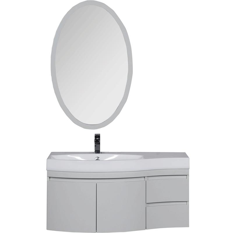 Комплект мебели для ванной Aquanet Опера 115 L 169414 Белый зеркало vezzolli алиана цвет белый 115 х 88 см