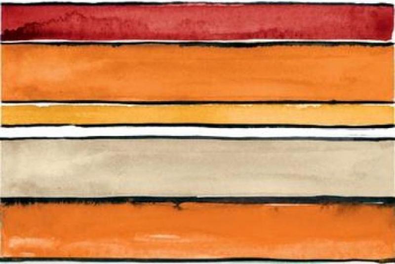 Керамический декор Ceramica D Imola Shades Stripes Sun Mix 20х60 см
