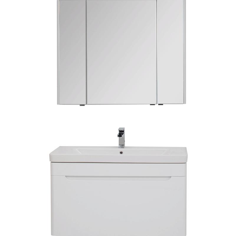 Комплект мебели для ванной Aquanet София 105 203651 подвесной Белый фото