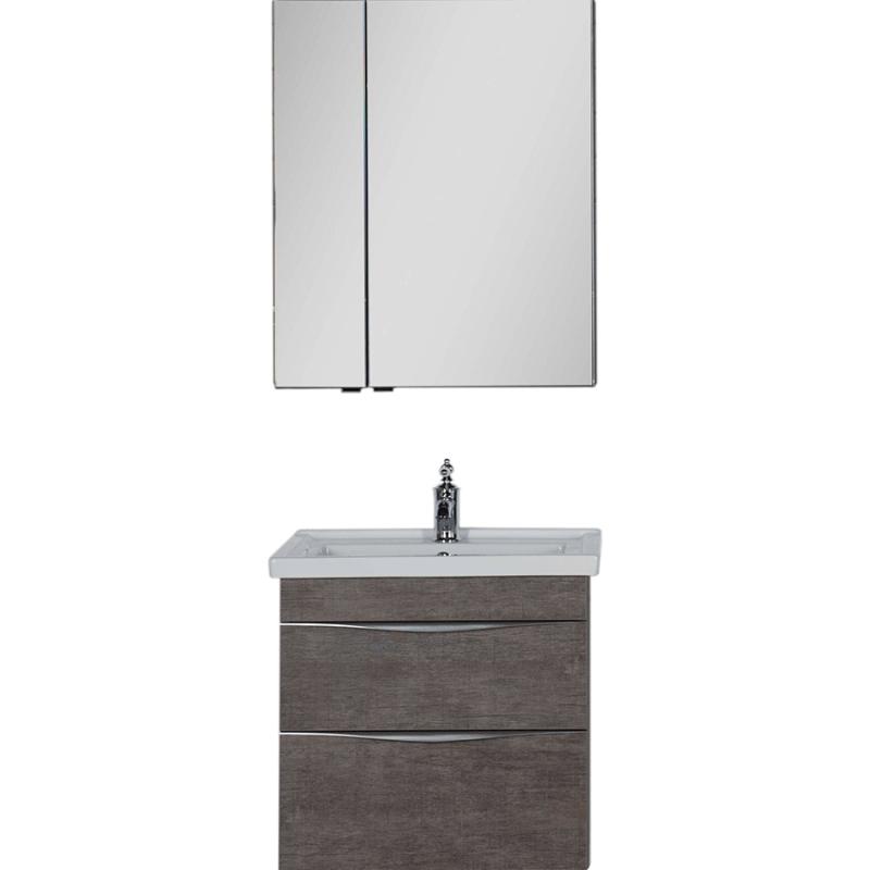 Комплект мебели для ванной Aquanet Эвора 70 183167 подвесной Дуб антик aquanet комплект мебели эвора 80 дуб антик