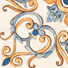 цена Керамический декор Rondine Tuscany J87857 Tscn Decoro Giotto 2 20,3x20,3 см онлайн в 2017 году