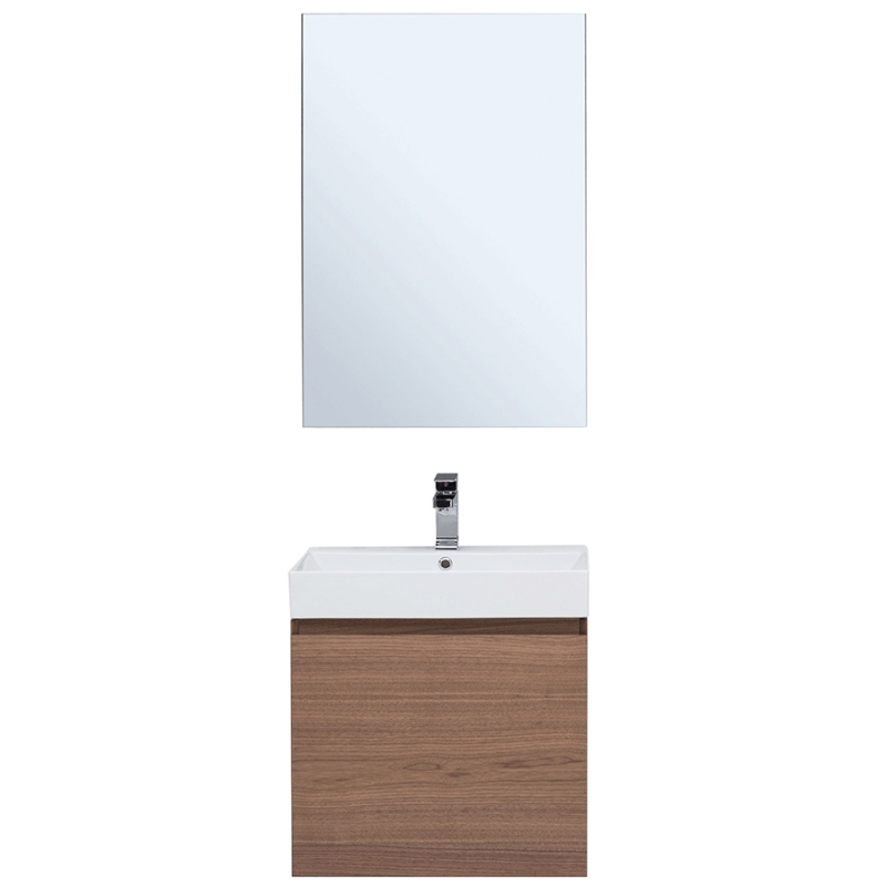 Фото - Комплект мебели для ванной Aquanet Нью-Йорк 60 211659 подвесной Шпон Орех комплект мебели для ванной aquanet йорк 60 203642 подвесной белый глянец