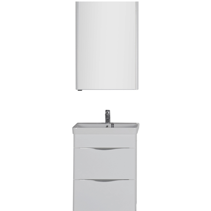Комплект мебели для ванной Aquanet Орлеан 60 183184 подвесной Белый