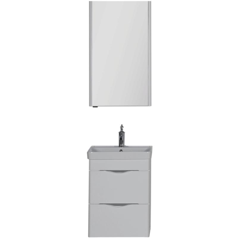 Комплект мебели для ванной Aquanet Орлеан 50 183183 подвесной Белый