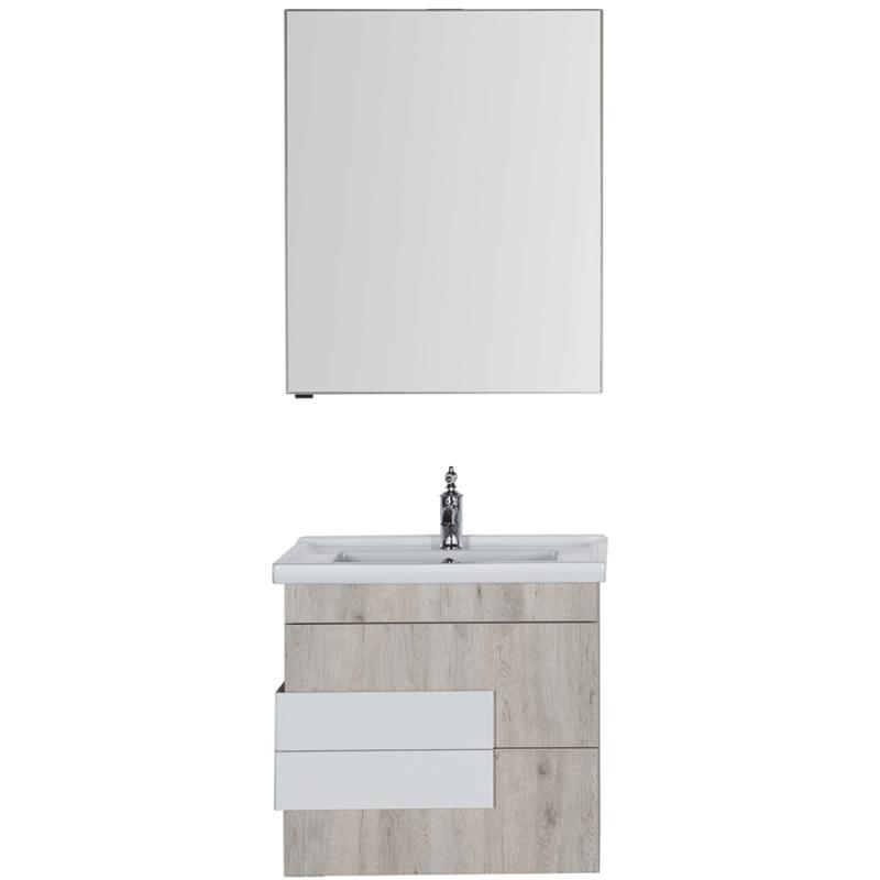 Комплект мебели для ванной Aquanet Мадейра 70 183161 подвесной Дуб кантри