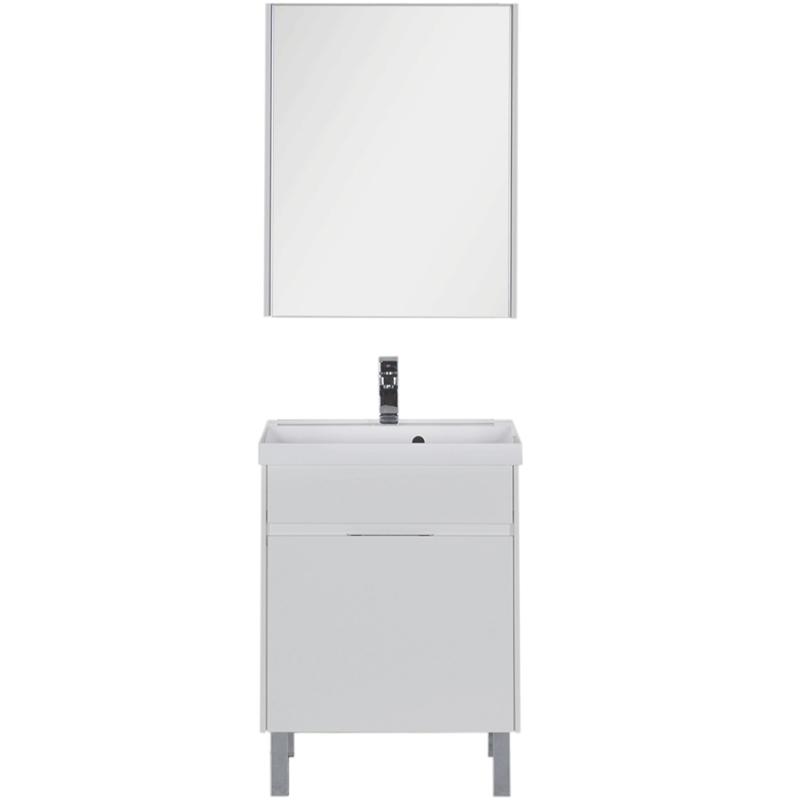 Комплект мебели для ванной Aquanet Латина 60 180120 Белый
