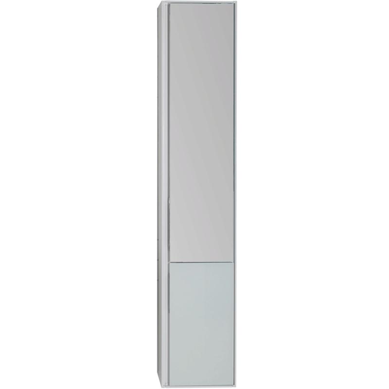 Шкаф пенал Aquanet Гласс 35 R 196962 подвесной Белый
