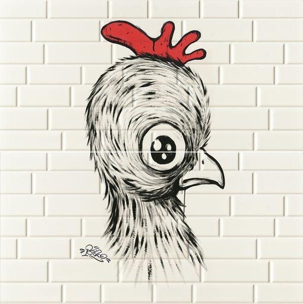 Керамическое панно Ceramica D Imola Mash-Up Chick Red 2 29,2х58,6 см ootdty hercules metal cutting dies stencil diy scrapbooking album stamp paper card embossing crafts decor