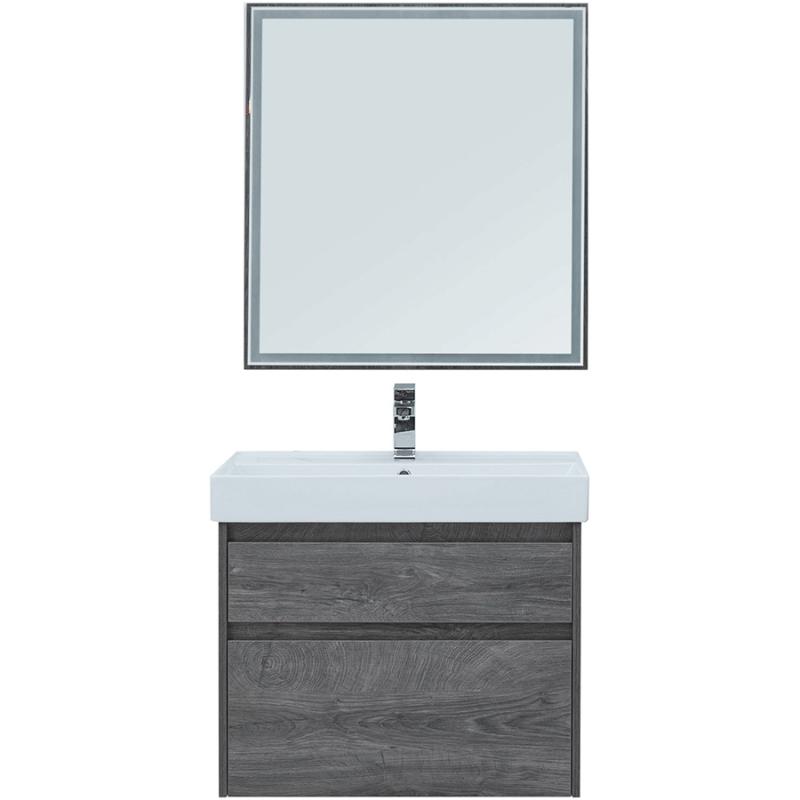 Комплект мебели для ванной Aquanet Nova Lite 75 242904 подвесной Дуб рошелье комплект мебели для ванной aquanet nova lite 90 243247 подвесной дуб рошелье
