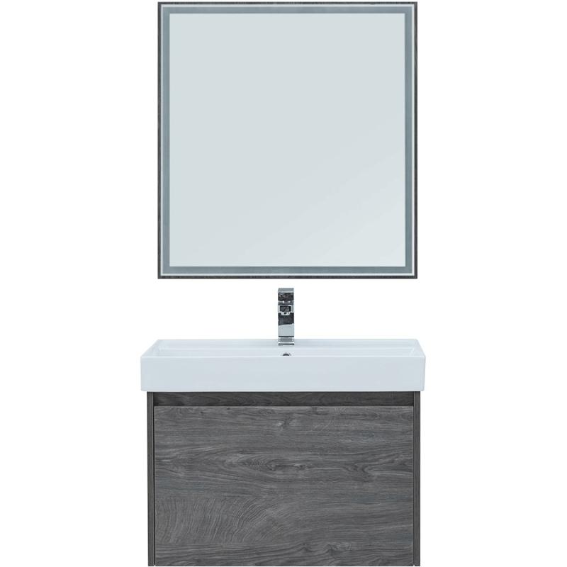 Комплект мебели для ванной Aquanet Nova Lite 75 242295 подвесной Дуб рошелье комплект мебели для ванной aquanet nova lite 90 243247 подвесной дуб рошелье