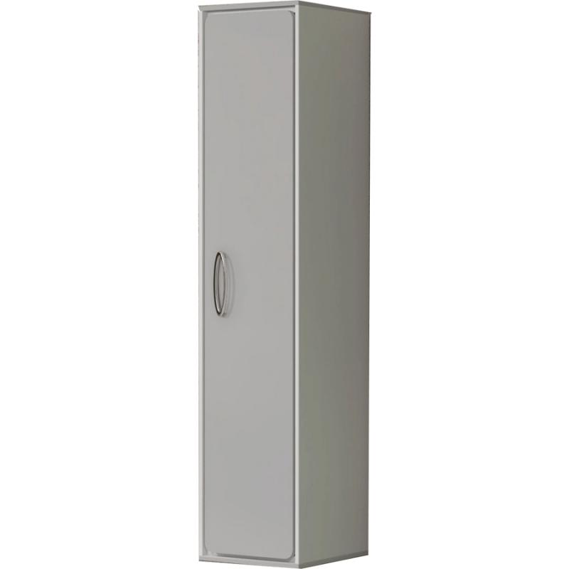 Шкаф пенал Smile Монтэ 30 Z0000014811 Светло-серый/Хром