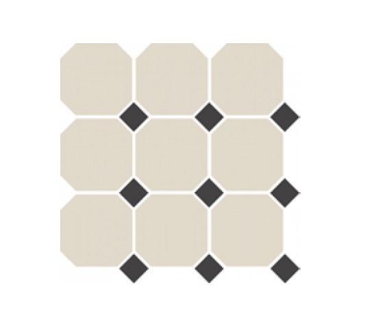 Керамогранит Top Cer Field Material 4416OCT14/1C White/Black 30x30см