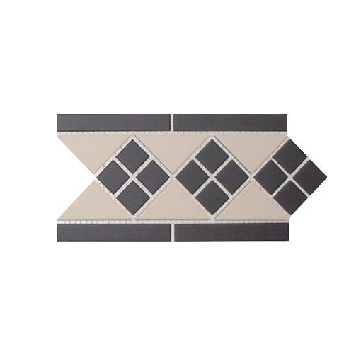 Керамический бордюр Top Cer Victorian Designs Lisbon1Border 28x15см