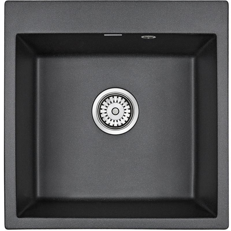 Кухонная мойка Paulmark Praktisch 51 PM105152-BL Черная