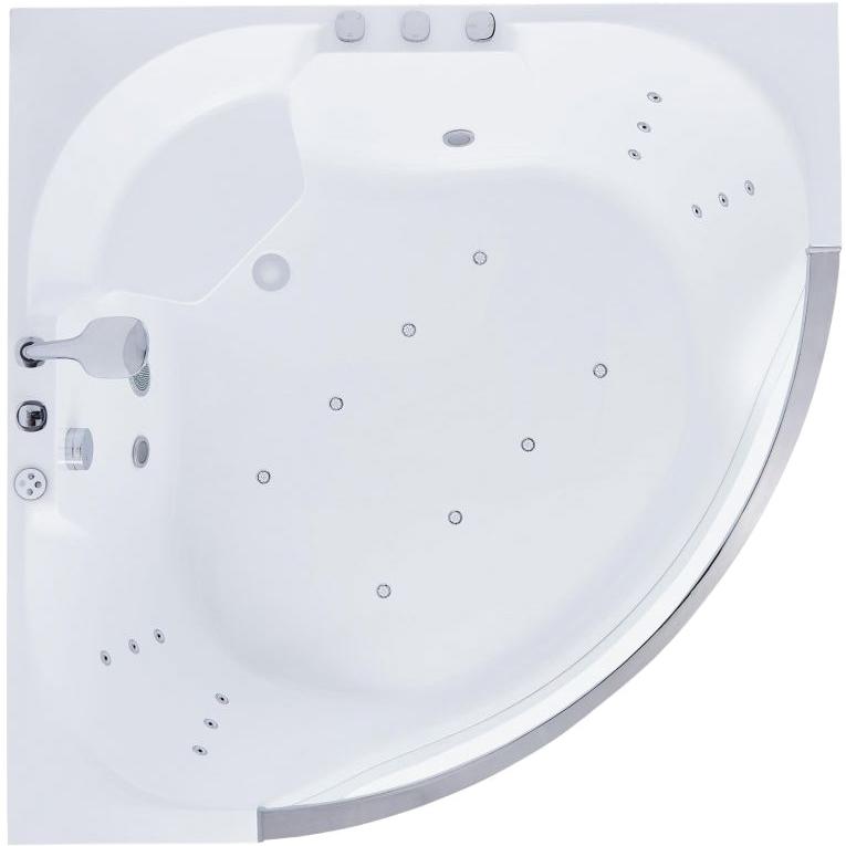 Акриловая ванна SSWW PA4104 GS 140х140 без гидромассажа ванна ssww pa4104 акрил угловая