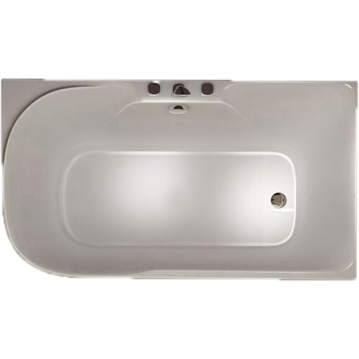 Акриловая ванна SSWW M618 140х75 R без гидромассажа ванна ssww pa4104 акрил угловая