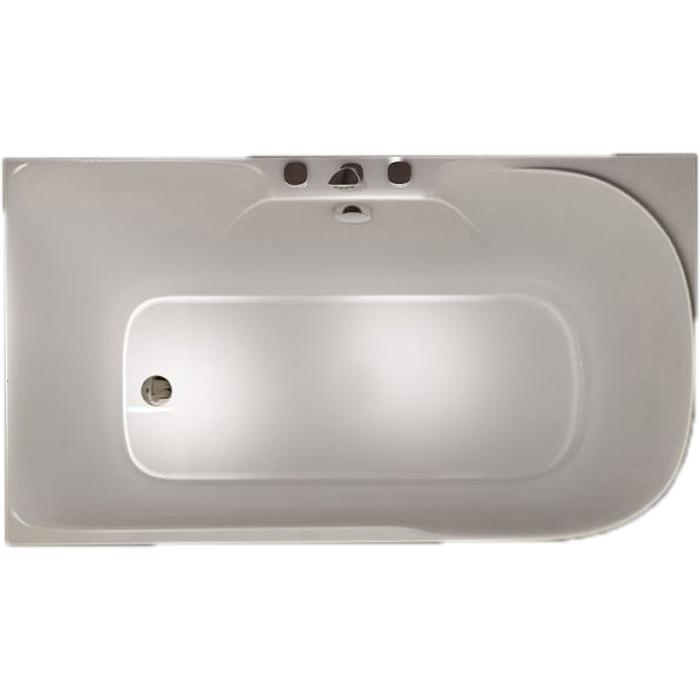 Акриловая ванна SSWW M618 140х75 L без гидромассажа ванна ssww pa4104 акрил угловая