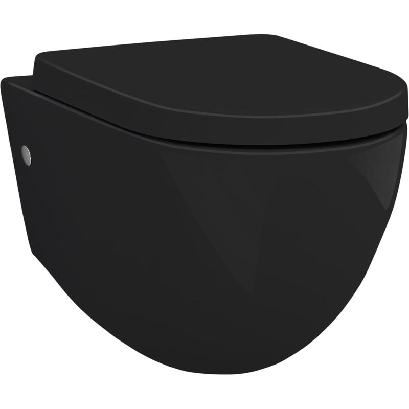 Унитаз Artceram File 2.0 FLV001 03 00 подвесной Черный подвесной унитаз artceram flv001 03 00 чёрный глянцевый без сидения