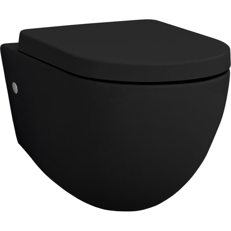 Унитаз Artceram File 2.0 FLV001 17 00 подвесной Черный матовый подвесной унитаз artceram flv001 03 00 чёрный глянцевый без сидения