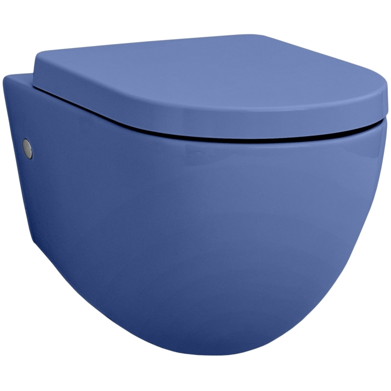 Унитаз Artceram File 2.0 FLV001 16 00 подвесной Blu zaffiro подвесной унитаз artceram flv001 03 00 чёрный глянцевый без сидения