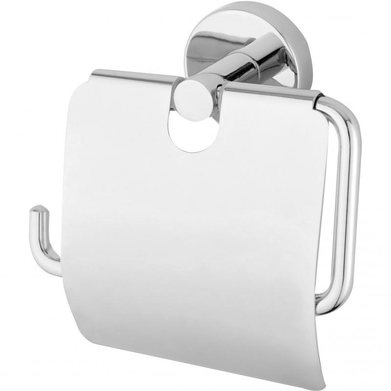 Держатель туалетной бумаги Bien Sera B002112 с крышкой Хром душевая система bien sera bd44029101 хром