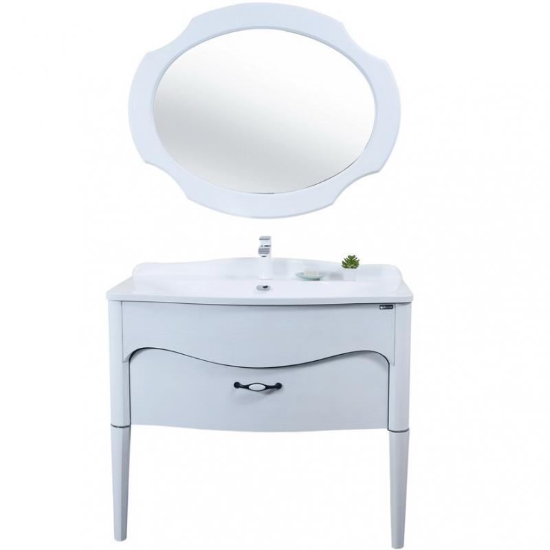 Комплект мебели для ванной Orans 100 ВС-1106 Белый
