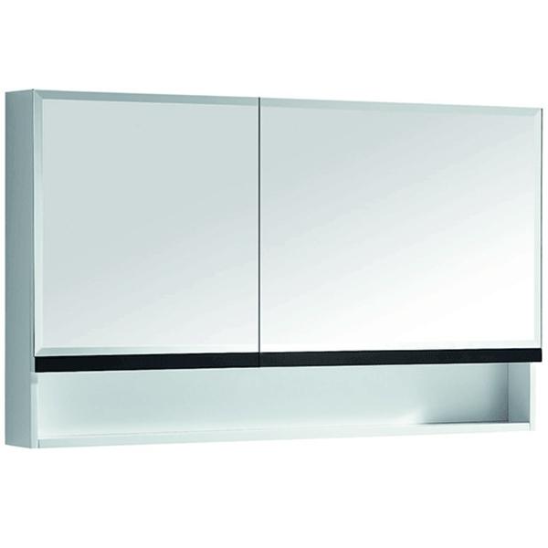 Зеркальный шкаф Orans 120 BC-6019-1200 Белый Черный