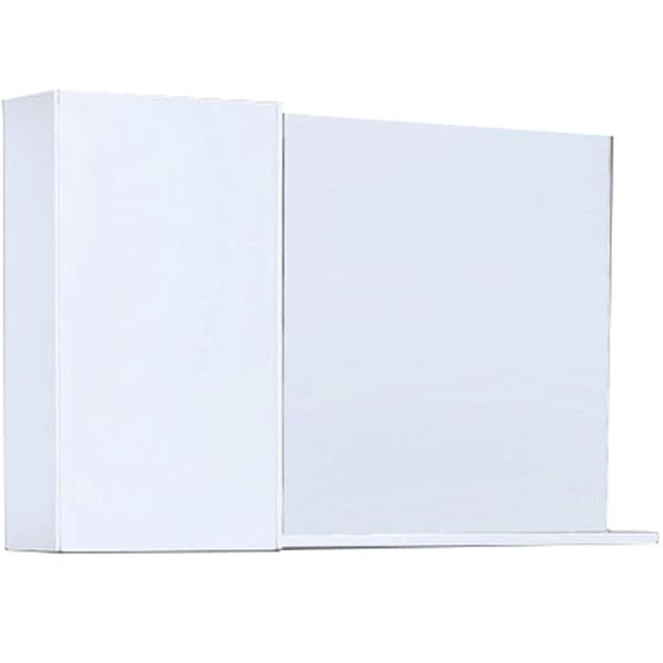 Зеркальный шкаф Orans 95 ВС-4017L-1000 Белый