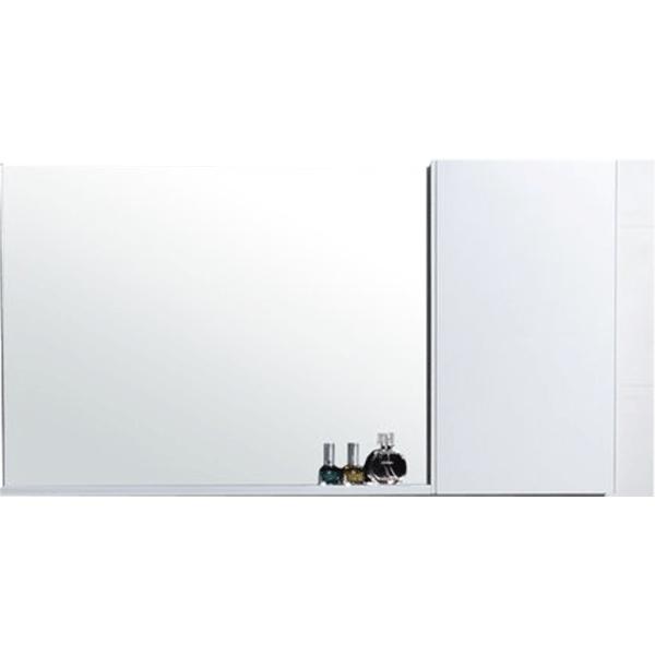 Зеркало со шкафом Orans 115 ВС-4017L-1200 Белое