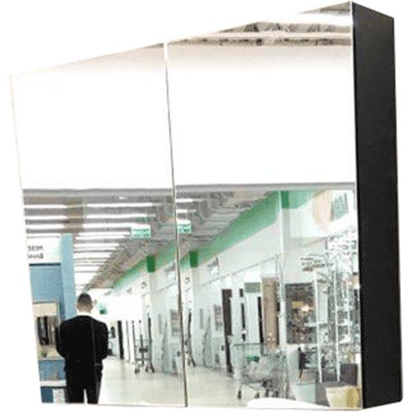 Зеркальный шкаф Orans 80 BC-4023-800 с подсветкой Бархатистый черный