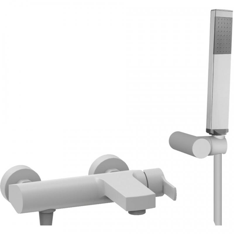 Смеситель для ванны Cezares Ovest OVEST-VDM-BIO Белый недорого