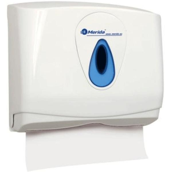 Держатель бумажных полотенец Merida Top Mini ATN201 Белый Синий