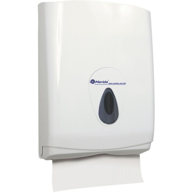 Держатель бумажных полотенец Merida Top Maxi ATS101 Белый Серый