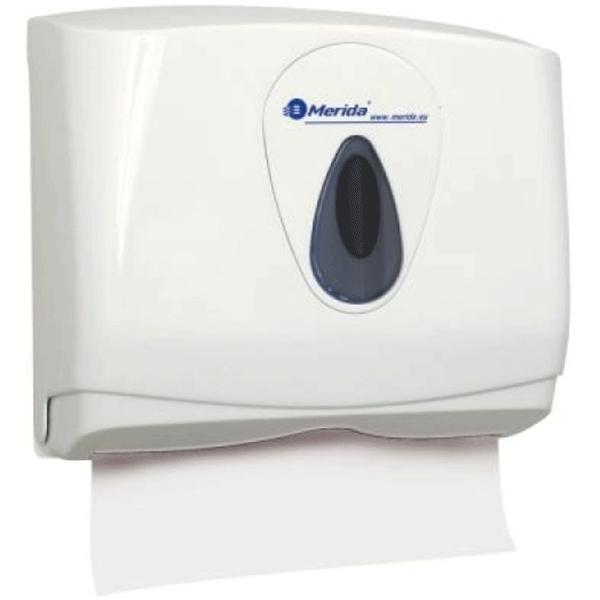 Держатель бумажных полотенец Merida Top Mini ATS201 Белый Серый wesco держатель для бумажных полотенец красный 322104 02 wesco