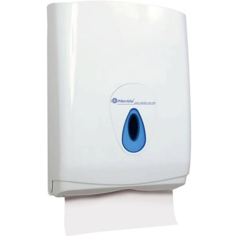 Держатель бумажных полотенец Merida Top Maxi ATN101 Белый Синий wesco держатель для бумажных полотенец красный 322104 02 wesco