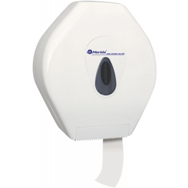 Держатель туалетной бумаги Merida Maxi Top BTS101 Белый Серый туалетная бумага merida top тбт503 белый