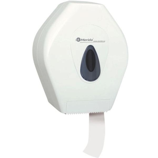 Держатель туалетной бумаги Merida Mini Top BTS201 Белый Серый туалетная бумага merida top тбт503 белый