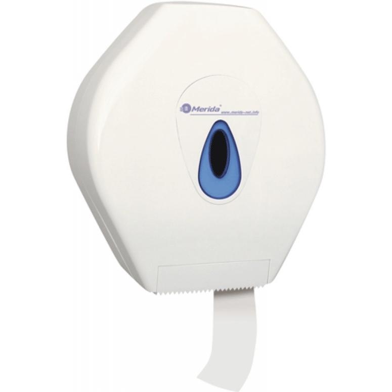 Держатель туалетной бумаги Merida Maxi Top BTN101 Белый Синий туалетная бумага merida top тбт503 белый
