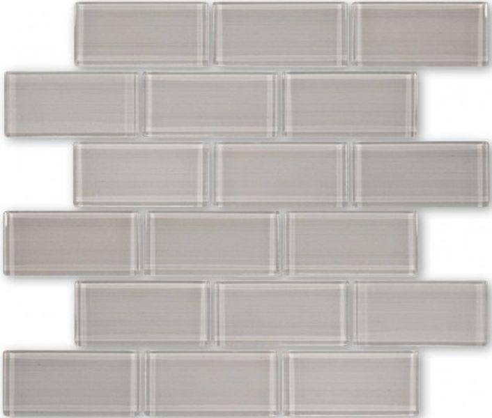 Стеклянная мозаика Caramelle mosaic Impressioni Mattoni Beige 30х30 см