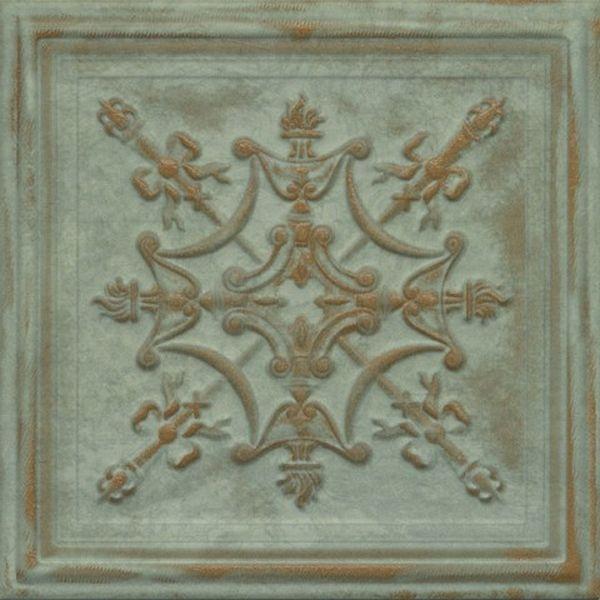 Керамическая плитка Aparici Gatsby Green Tin настенная 20,1х20,1 см