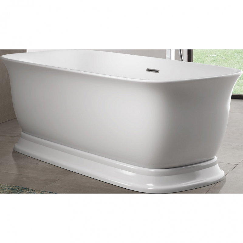 Акриловая ванна BelBagno BB400-1700-800 170х80 без гидромассажа акриловая ванна belbagno 170x85 bb42 1700