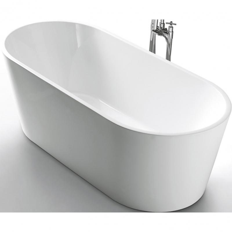 Акриловая ванна BelBagno BB202-1700-800 170х80 без гидромассажа акриловая ванна belbagno bb80 1700